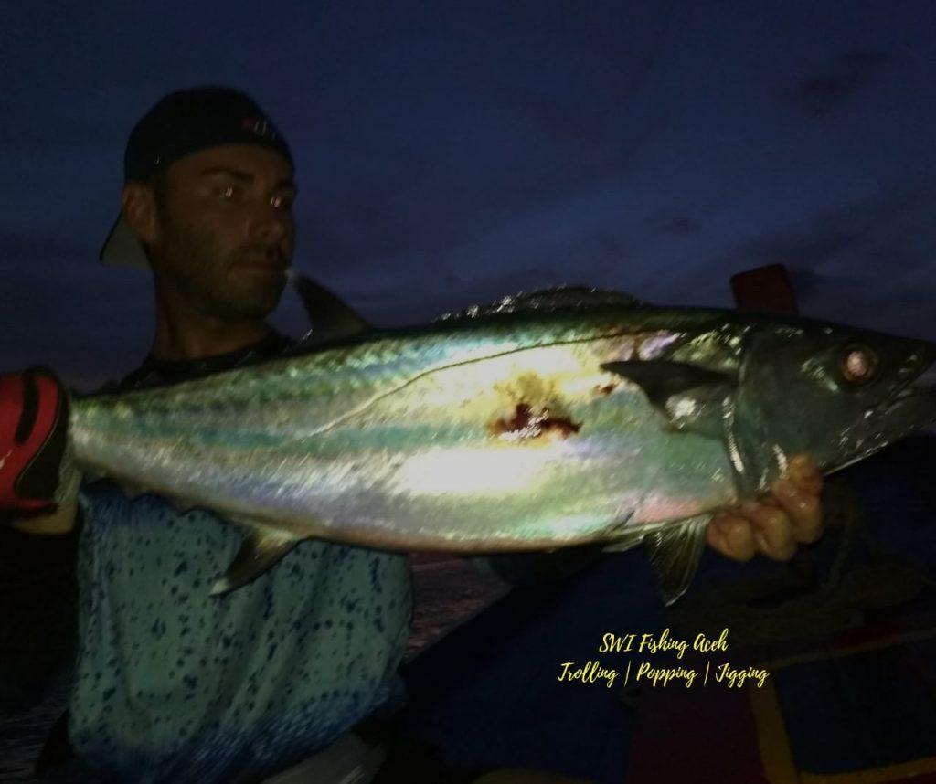 jigging fishing technique