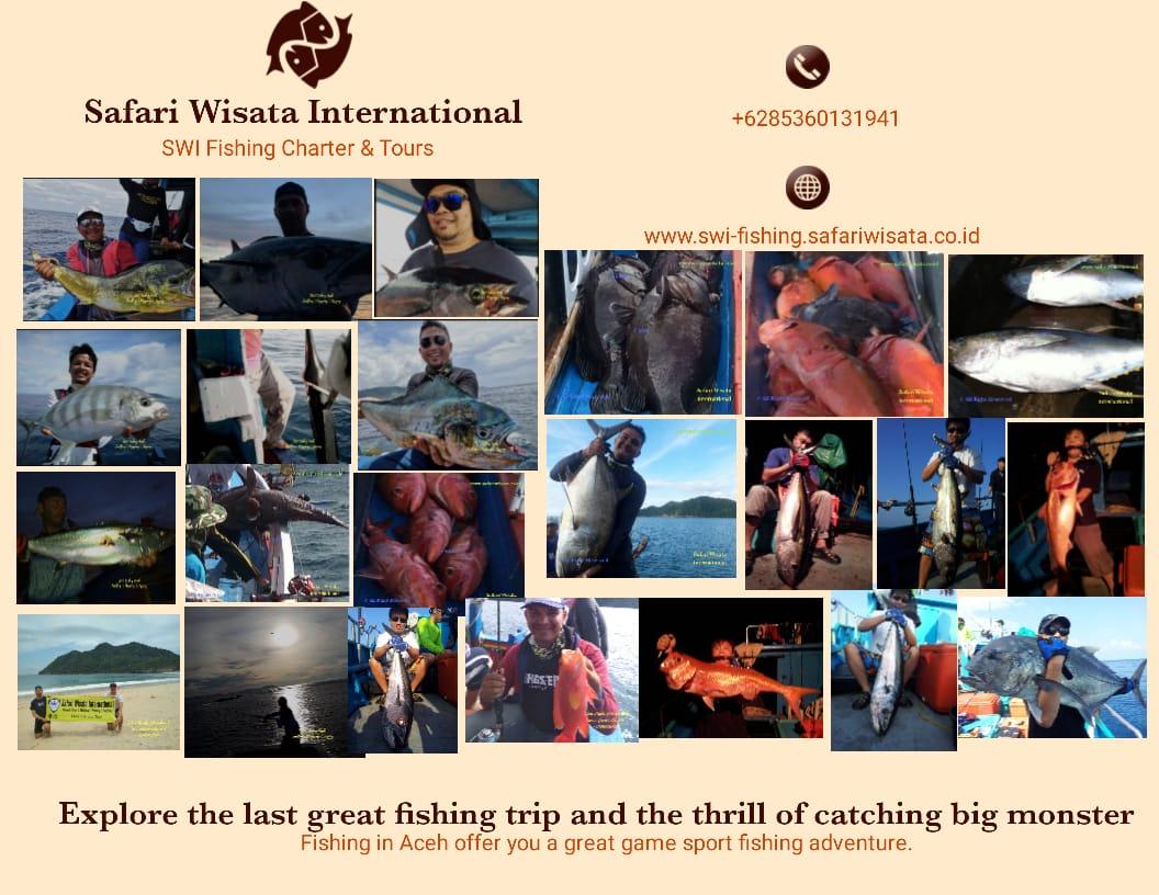 Aceh Island, Pulau Weh & Andaman Fishing Trip 5 Days 4 Nights