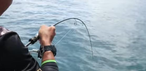 fishing in seribuat